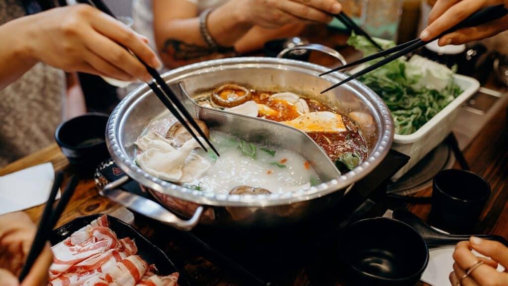 Hot Pot asiatique